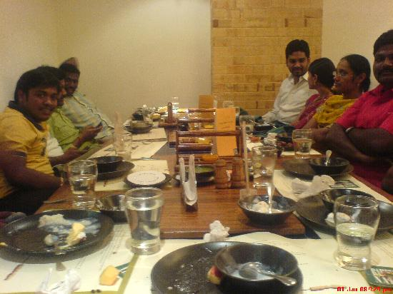 Barbeque Nation: With friends...