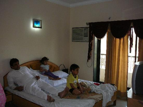 Shirdi, India: The bed room