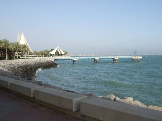 Kuwait City, Kuwejt: The beautiful marina