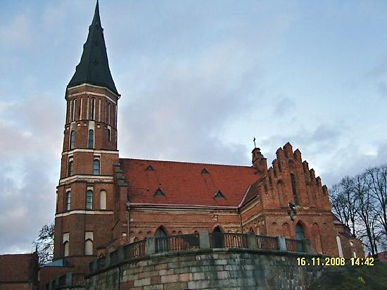 Best Baltic Kaunas Hotel: Old church