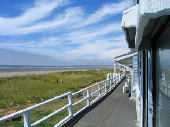 Moclips, WA: Balcony View