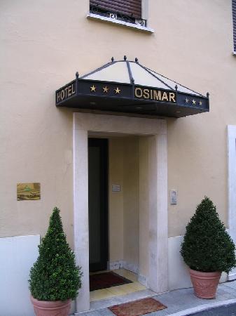 Osimar Hotel: Hotel Osimar main entrance