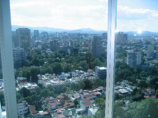 W Mexico City: view from suite