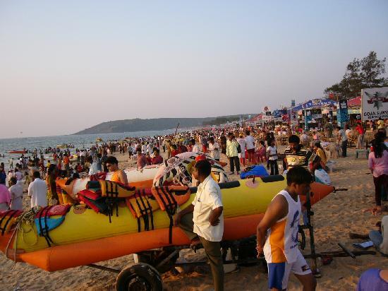 Old Goa: Baga Beach