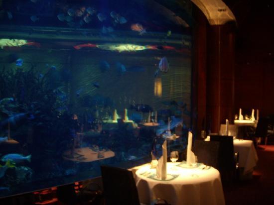 Al mahara underwater restaurant picture of burj al arab for Burj al arab underwater room