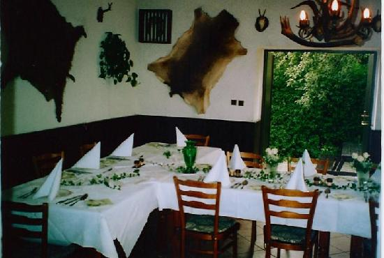 Restaurant _ Penzion Zlata Koruna: Festtisch