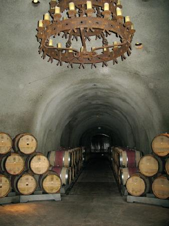 Far Niente Winery: The Caves.