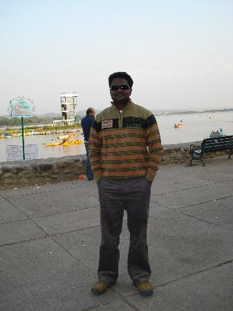 Chandigarh, India: lake view