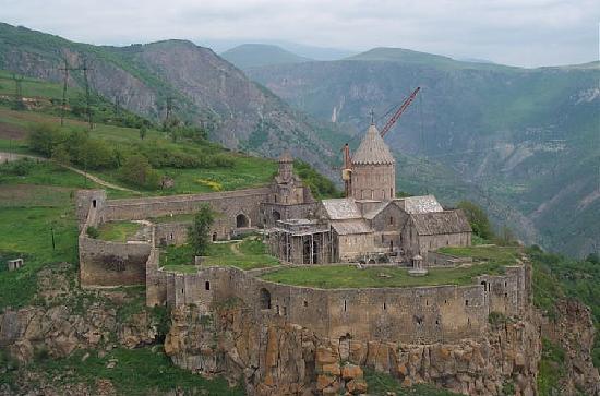 Tatev Monastery, Armenia (Copyright Raffi Kojian)