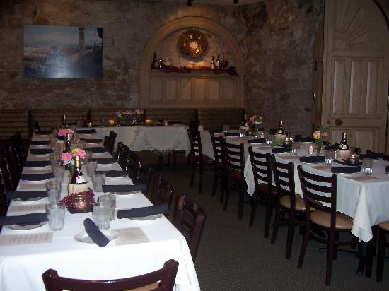 Luna Rossa: One of the 3 banquet rooms- Festa