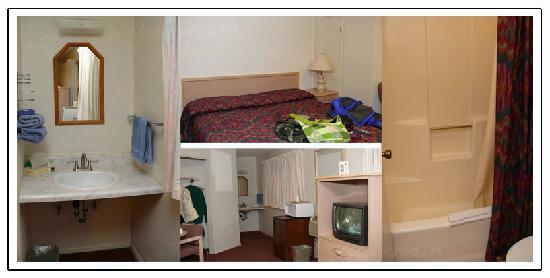 Sugar Loaf Lodge: inside the room