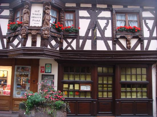 Ribeauville, Frankrike: Pfefferhuse - the pick of the local eateries