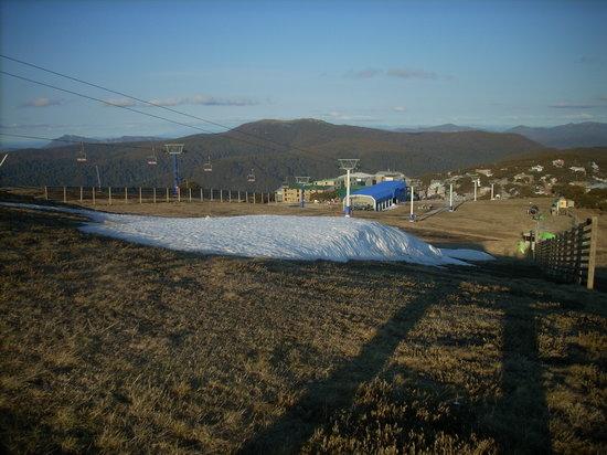 Mt Buller: Ice In Long Area Of Mt. bullar
