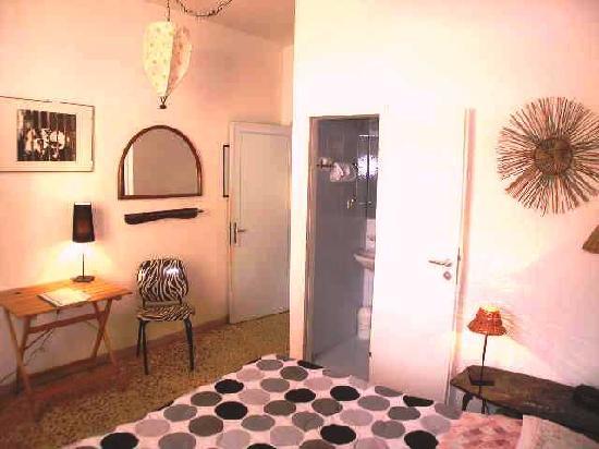 Leonardo's Rooms Locanda Nova B&B: habitacion africana nuestra habitación