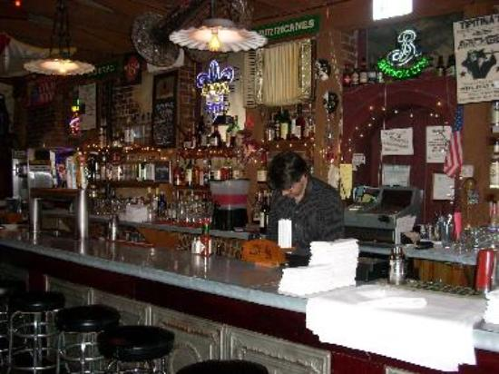 The Delta Grill bar makes New Orlean's famous Hurricanes.
