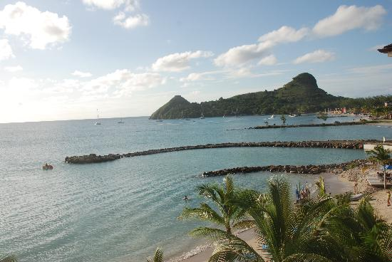 The Landings St. Lucia: View from room Piegon Island