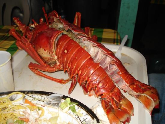 The Landings St. Lucia: Another view of the Lobster