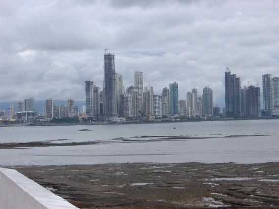 Panama City viewed from Casco Viejo