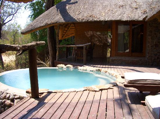 Dulini Lodge: Our plunge pool