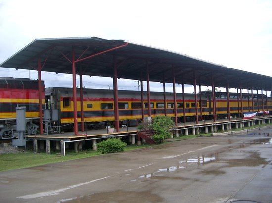 Panama Canal Railway at Colon