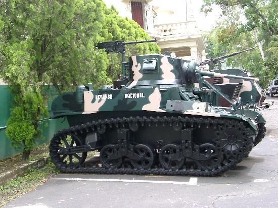 Military Museum El Zapote Barracks: Army Museum