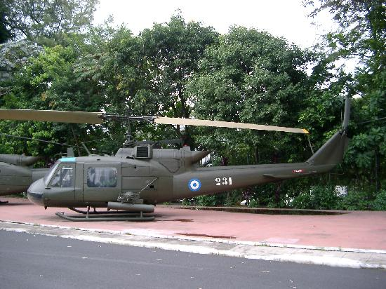 Military Museum El Zapote Barracks: Helicopter