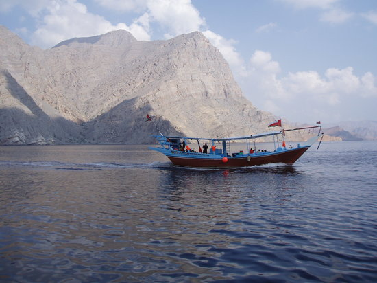 Khasab, Oman: In the fiords
