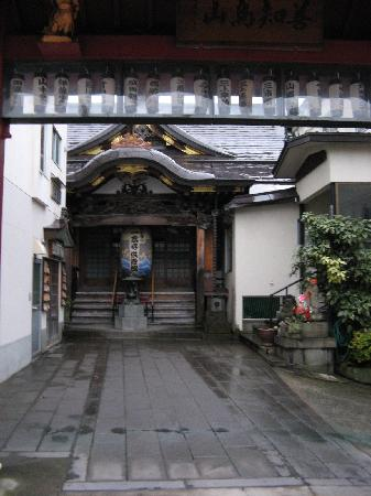 Hotel JAL City Aomori: nearby temple