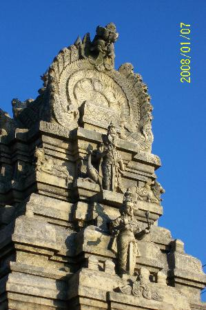 Nandi Hills: One of the Temples