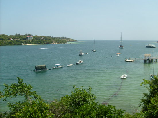 Kilifi, Kenia: the creek