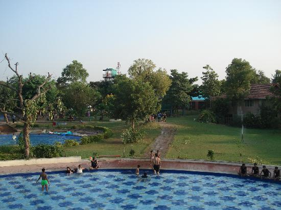 Shanku's Water Park: top view