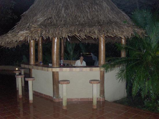 Manu Yoga Retreats: patio gas BBQ area near pool
