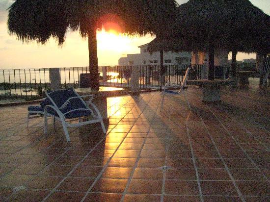 Hotel La Quinta del Sol: Rooftop sunset