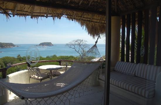 Quinta Real Huatulco : The view from Suite 11.