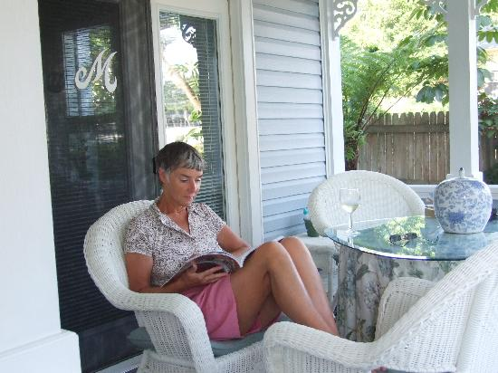 Meranova Guest Inn: On The Porch