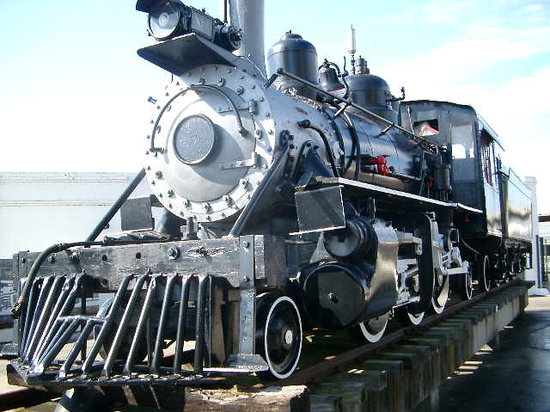 Galveston, TX: Steam locomotive