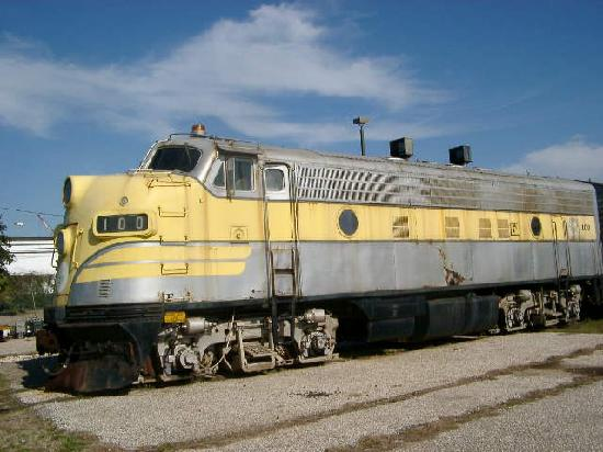 Galveston Island Railroad Museum and Terminal: Diesel locomotive