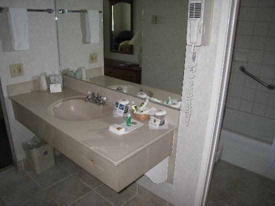 Best Western Plus Beach View Lodge: Bathroom