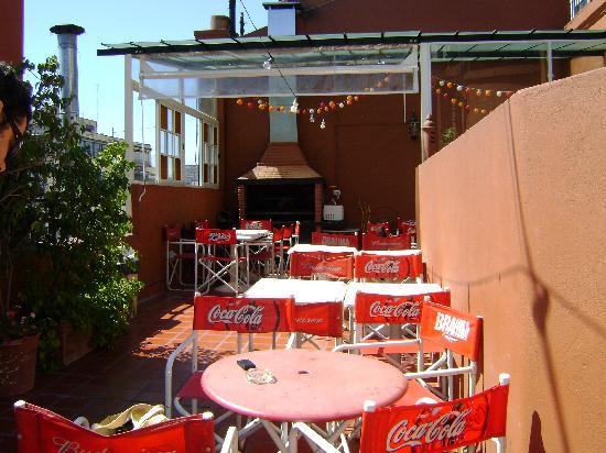 Terrazas Estoril: backyard