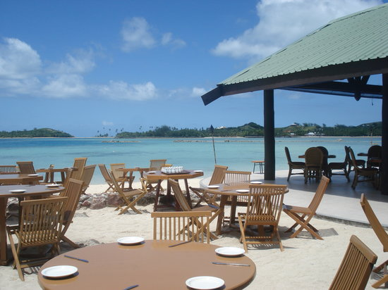 Plantation Island Resort: View from the restaurant