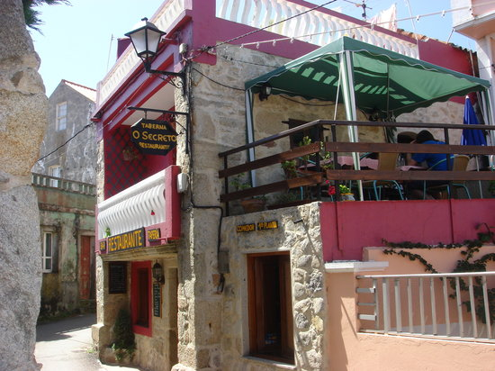 Corrubedo, Spanien: Restaurante O Secreto
