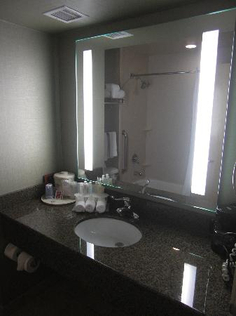 Holiday Inn Express Hotel and Suites Las Vegas 215 Beltway: Badezimmer