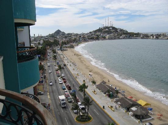 Hotel Plaza Marina Mazatlan: Can't beat the view