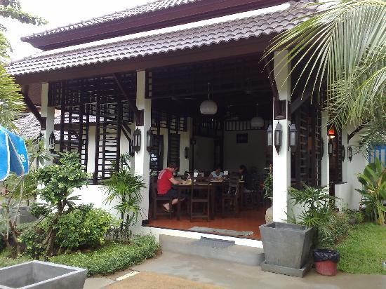 Am Samui Palace: New Breakfast/Restaurant Area