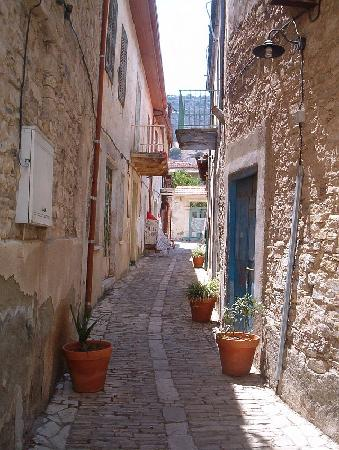 Pano Lefkara, ไซปรัส: Typical Lefkara Alley