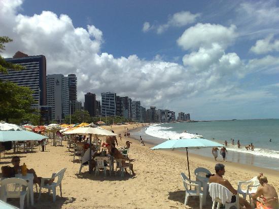 Fortaleza, CE : Praia na Beira Mar
