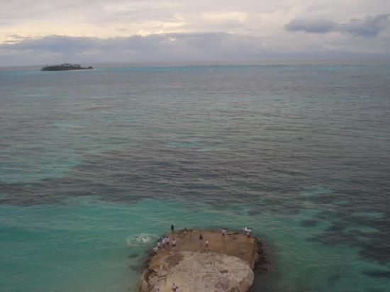 Hotel Calypso: desde la terraza del calypso