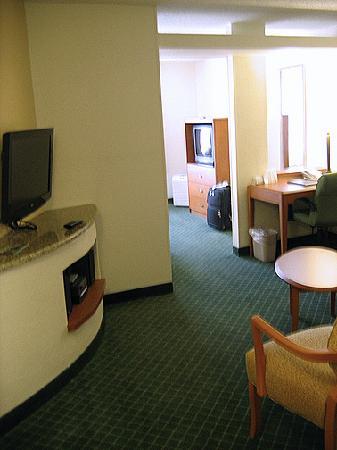 Fairfield Inn & Suites Houma: Layout