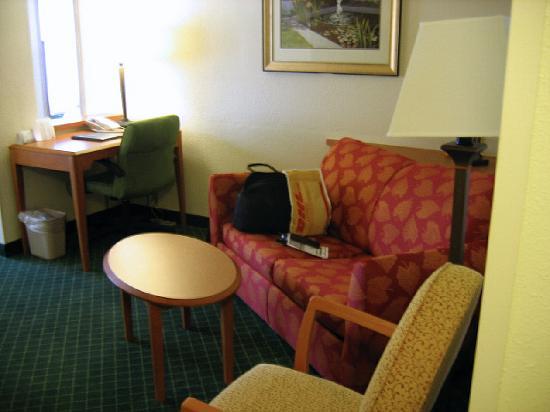 Fairfield Inn & Suites Houma: Living room/study