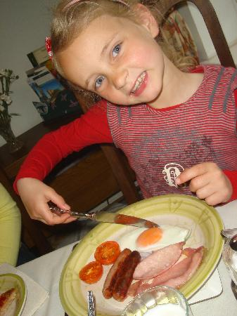 Wendy Wood Bed and Breakfast : English Breakfast